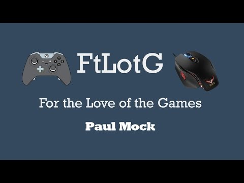 For the Love of the Games Episode 4 - Paul Mock