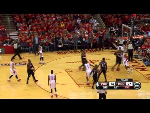 Portland Trail Blazers vs Houston Rockets Game 5   April 30, 2014   NBA Playoffs 2014