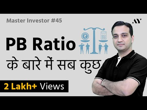 PB Ratio (Price To Book Value Ratio) - Explained In Hindi