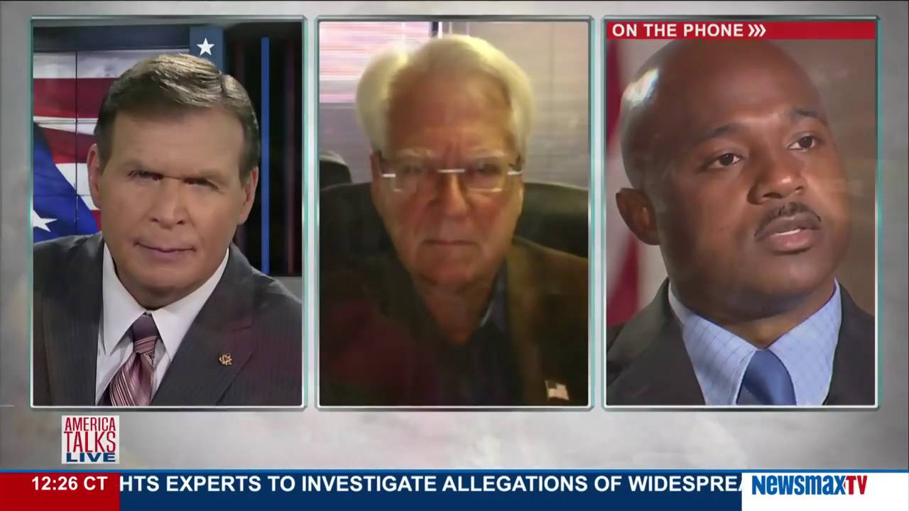 America Talks Live | Larry Klayman & Sgt. Demetrick Pennie on the ...