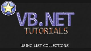 VB.NET Tutorial - List Collections - Adding, Retrieving, And Removing Data (Visual Basic .NET)