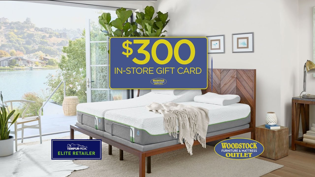 Why Tempur Pedic At Woodstock Furniture Mattress Outlet