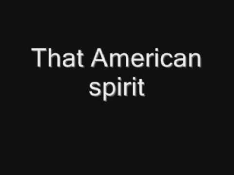 Thomas Rhett-American Spirit (Lyrics)
