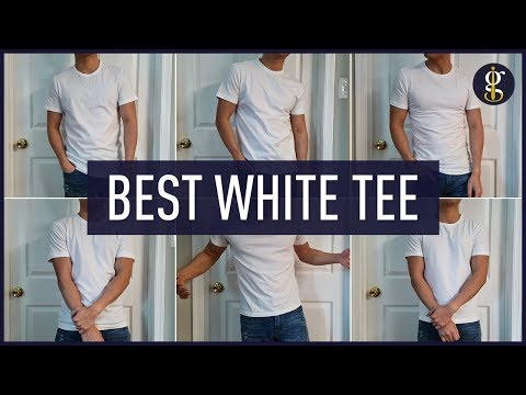 BEST WHITE T-SHIRT (Battle) | Asket, Uniqlo, Banana Republic, Express & More