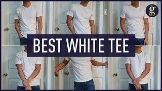 BEST WHITE T-SHIRT (Battle) | Asket, Uniqlo, Banana Republic, Express & More