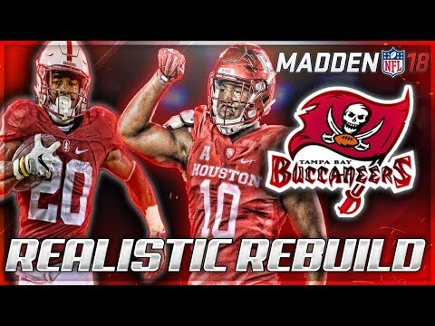 Rebuilding The Tampa Bay Buccaneers | Winston Gets Help -- Bryce Love + Ed Oliver | Madden 18