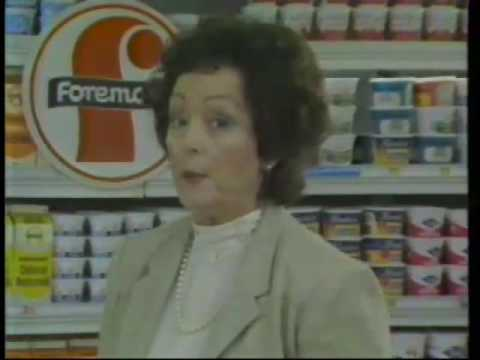 Carolyn Jones 1982 McCoy's Grocery Store Commercial