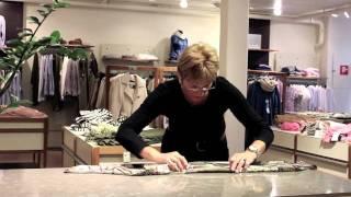 Gillblads tips: Knyt sidensjalen elegant