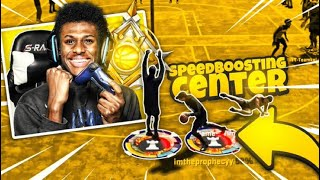 The First Ever LEGEND SPEED BOOSTING CENTER on NBA2K20 (SUPER RARE) BEST Build in NBA 2K20!!