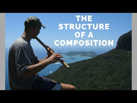 The Structure of a Composition in North Indian Classical Music