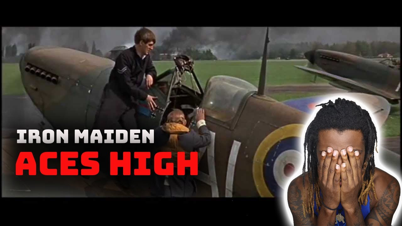 Download Iron Maiden Aces High Reaction // Rap Fan Reacts