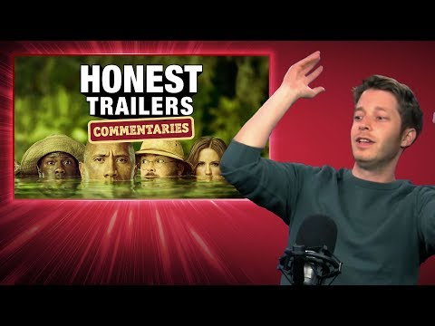 Honest Trailers Commentary - Jumanji: Welcome To The Jungle