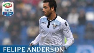 Il gol di Felipe Anderson - Sassuolo - Lazio - 2-1 - Serie A TIM 2015/16 giornata 8