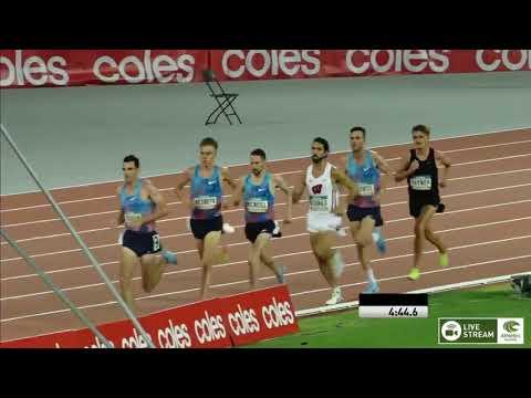 Mens 5000m   Final   Australian Athletics Championships 2018