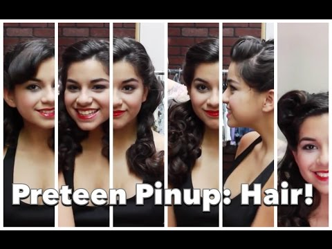 Teenage Pinup 2: Six Fast and Easy Vintage Hair Styles! by CHERRY DOLLFACE