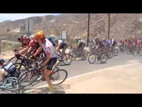 2014 Tour of California Crash