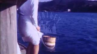 Japan.  Toba. Bay, Oyster bed,  Oyster diving women, 1968.  Film 90572