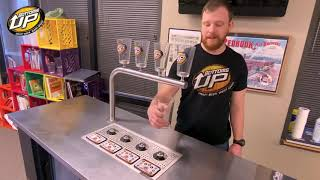 How To Put A Cup On A Bottoms Up Beer Dispenser