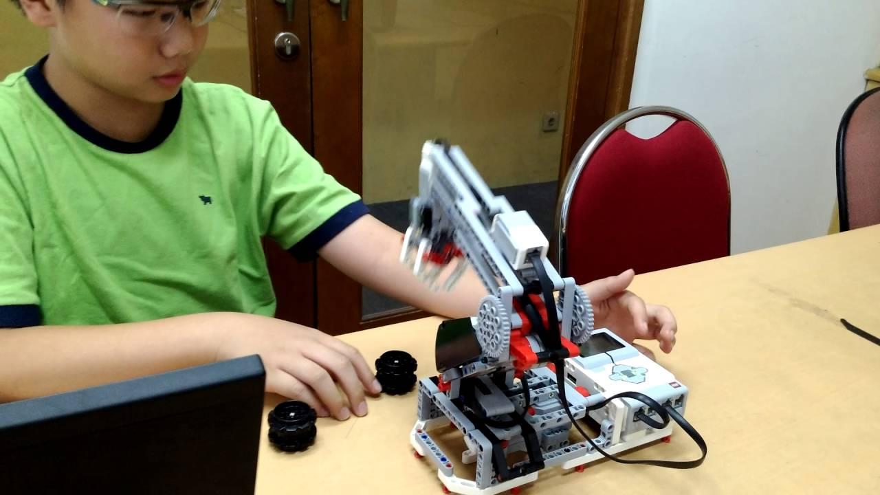 10. Robo Arm by. Nathaniel Arifin Robotics Education Centre - YouTube