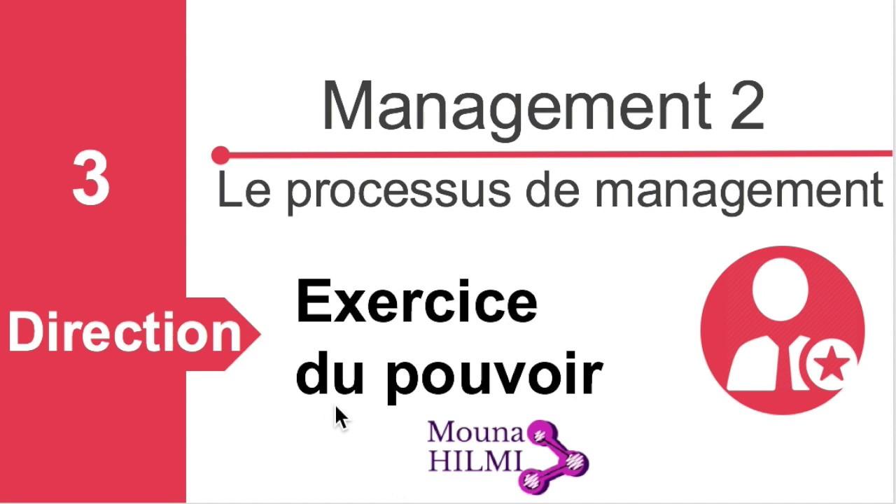 Management 2: Processus de management: Exercice du pouvoir ...