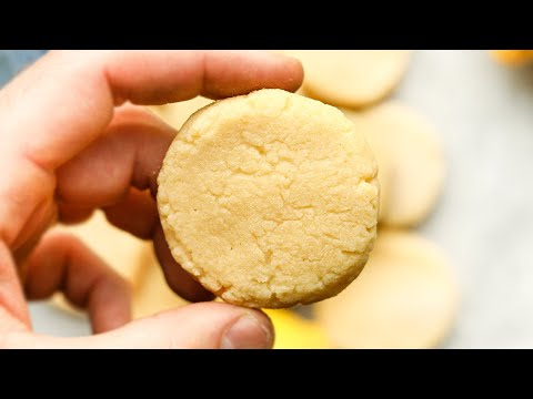 Keto Lemon Cookies Just 1 Net Carb