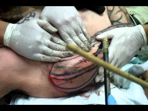 tapping at Soul Signature Tattoo Shop - YouTube