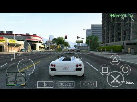 [16MB] GTA-5 In PPSSPP Download || PSP GTA 5 || 1000% Real