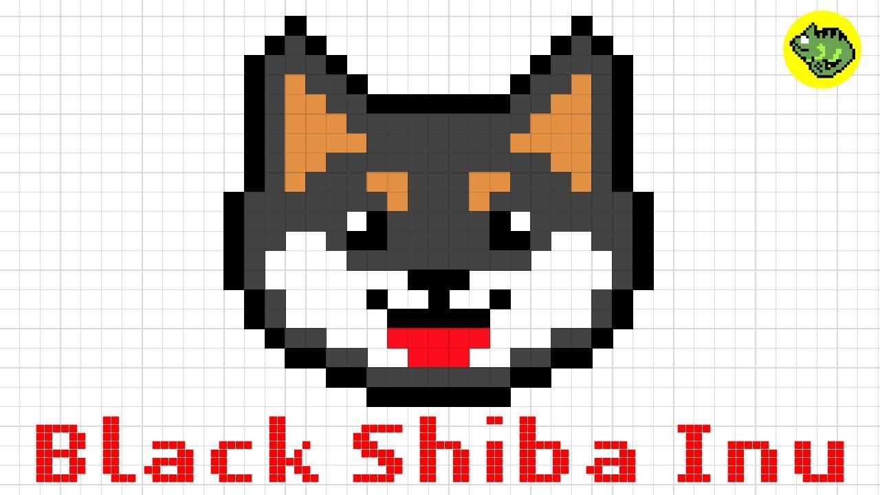 Pixel Art Shiba Inu Dog Series6how To Draw A Kawaii