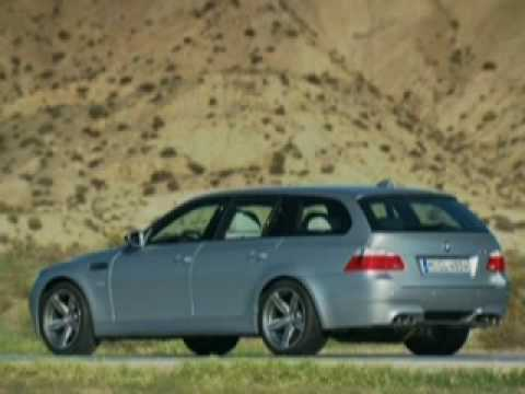 2007 Bmw M5 Touring V10 Promotional Video Youtube