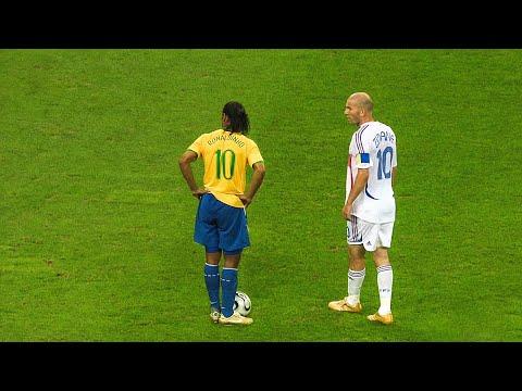 The day Zinedine Zidane & Ronaldinho met each other