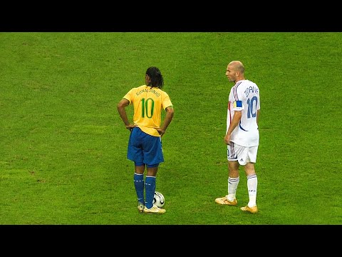 The day Zinedine Zidane & Ronaldinho met in 2006 World Cup
