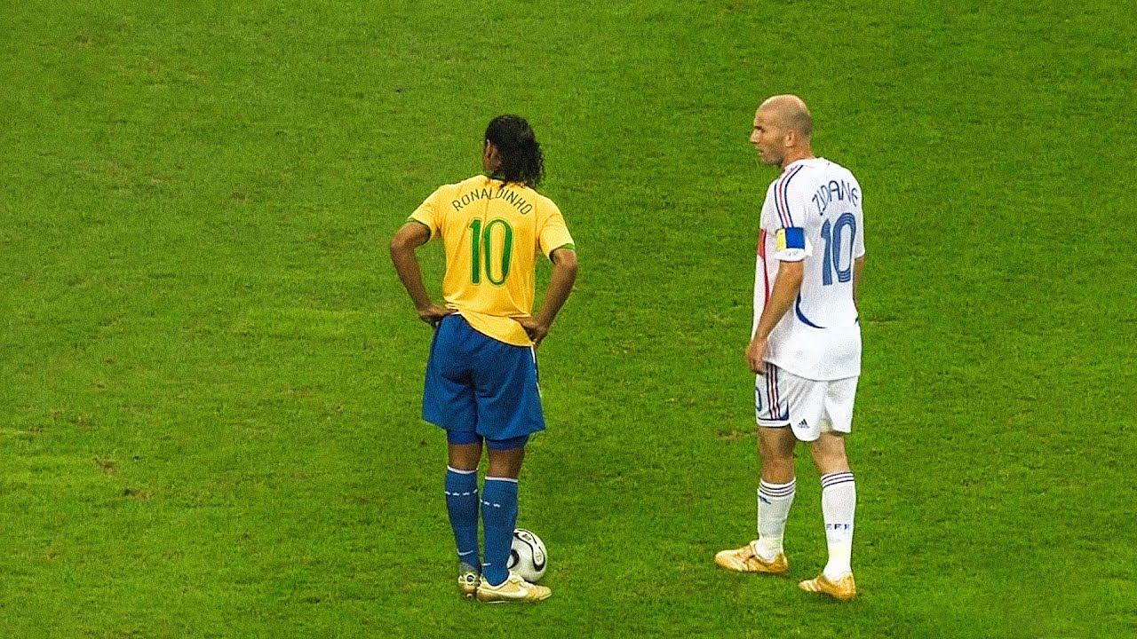 The day Zinedine Zidane & Ronaldinho met in 2006 World Cup