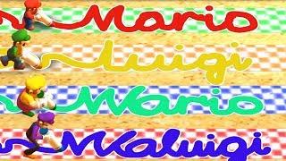 Mario The Top 100 Minigames Mario vs Luigi vs Wario vs Waluigi