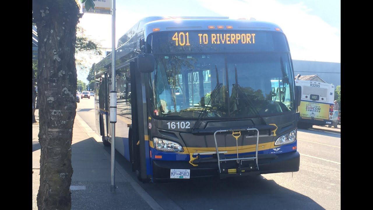 Vancouver translink 2016 new flyer xd40 16102 youtube for Time table bus 99