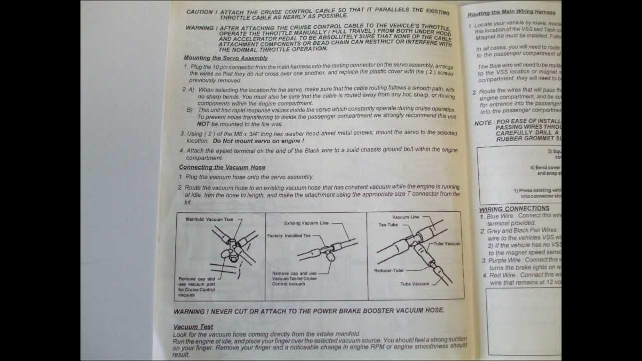Daihatsu Cruise Control Diagram