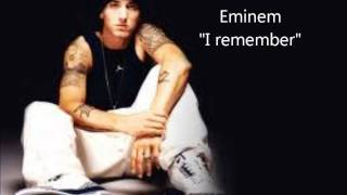 Eminem - I remember lyrics ( everlast diss) HD 1080 p
