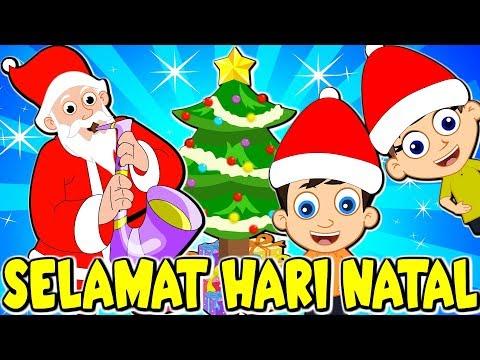 Lagu Kanak Kanak Melayu Malaysia | Lagu Selamat Hari Natal | We Wish You a Merry Christmas in Malay