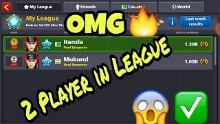 OMG / Only Two Player In 8 Ball Pool league full proof