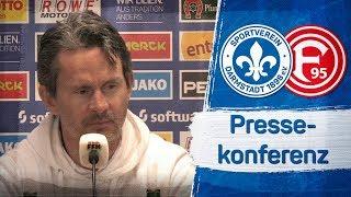 Darmstadt 98 | Pressekonferenz nach dem Spiel gegen Fortuna Düsseldorf