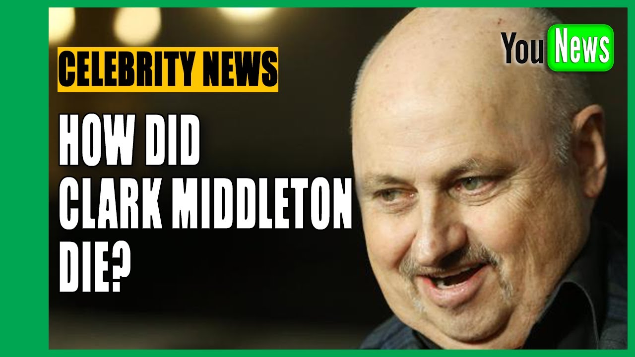 Clark Middleton, actor on The Blacklist and Twin ...