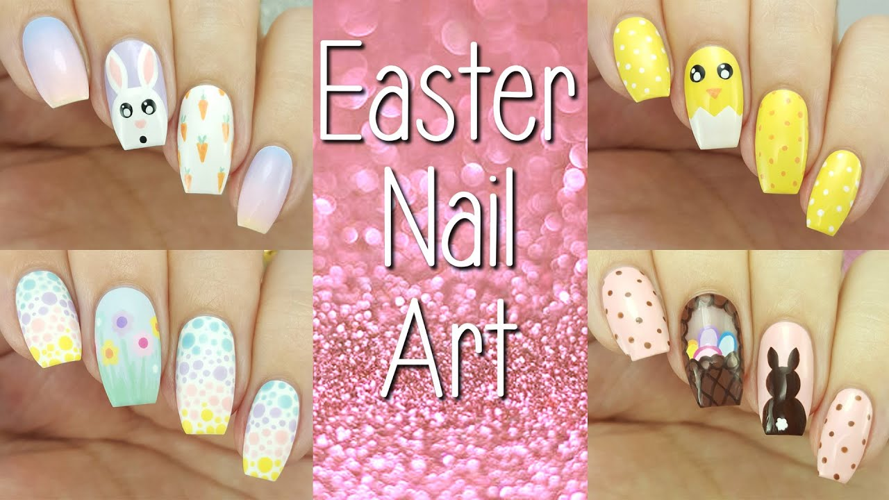 Easter Nail Art Compilation | 2016 - YouTube