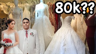 DIVISORIA Shopping | Wedding Gowns and Suits