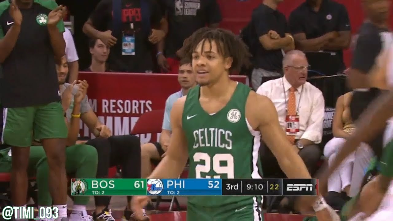 Carsen Edwards Leads Celtics To Victory In First Summer League Contest