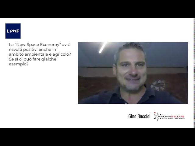 L'impatto green della space economy - Gino Bucciol (Officina Stellare)