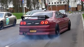 The BEST Supercar BURNOUT & DRIFTING Compilation!