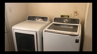 Samsung Aquajet High Efficiency Top load Washer WITH Built in Sink