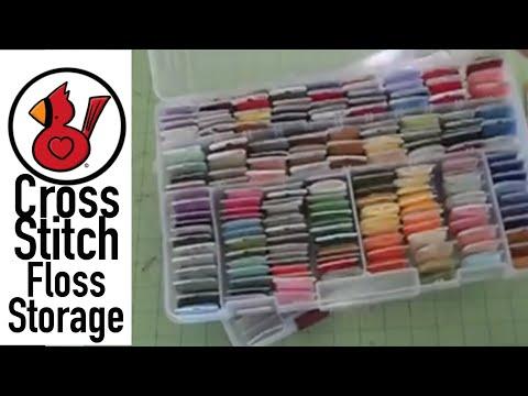 Nice Video #27 Cross Stitch Floss Storage