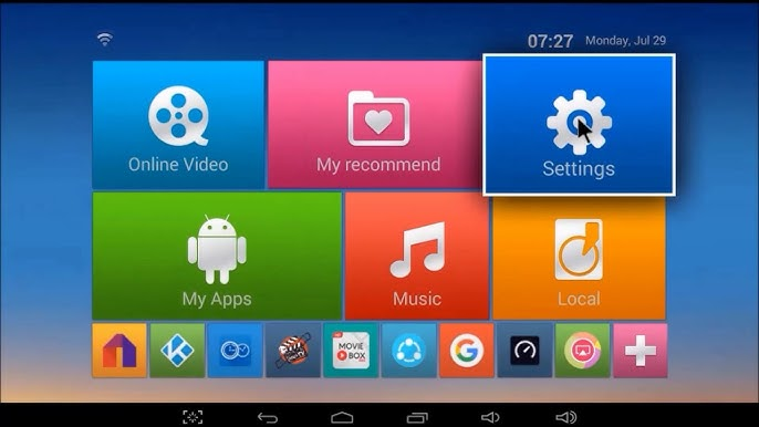 ott tv box 4x cpu 4x gpu firmware update