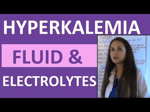 Fluid & Electrolytes Nursing Students Hyperkalemia Made Easy NCLEX Review