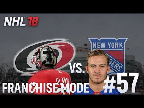 Round One/Rangers - NHL 18 - GM Mode Commentary - Hurricanes - Ep.57